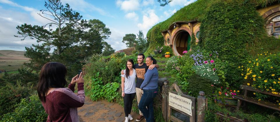 Enjoying Hobbiton™ Movie Set