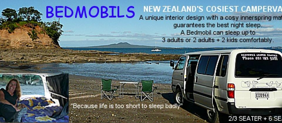 Bedmobil camper hire New Zealand1