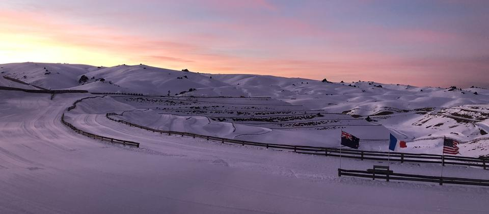 Sunrise at Snow Farm