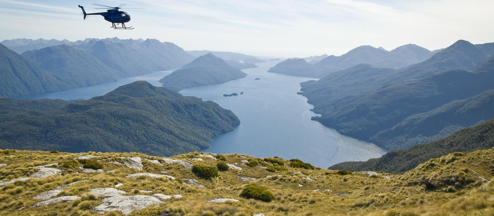 View from Mt. Pender, Dusky Sound