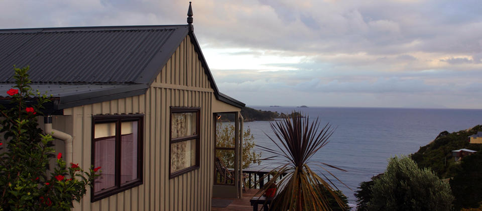 Aroma Del Mare cottage at Tawa Lodge