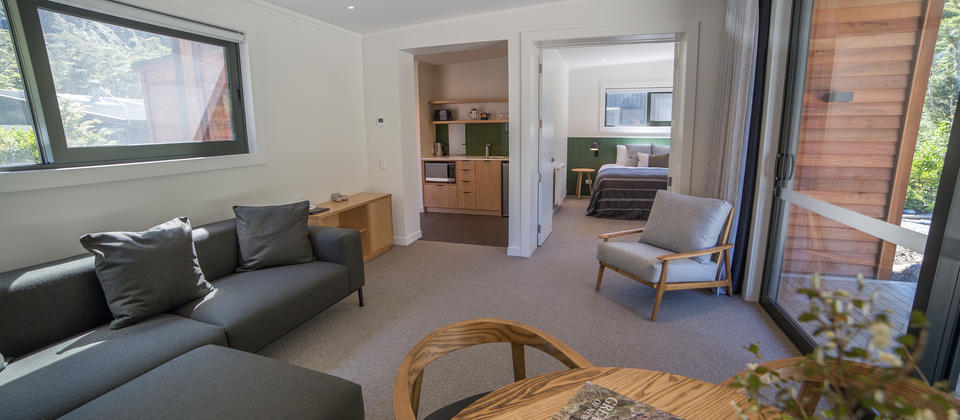 Brand New 2 Bedroom Garden Chalet Suites, spacious luxury for families or couples travelling together.
