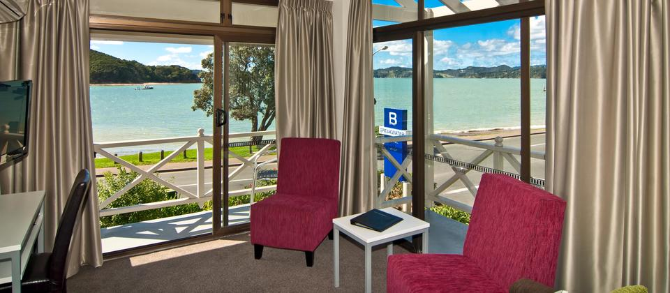 Spectacular views from Waterfront Suite