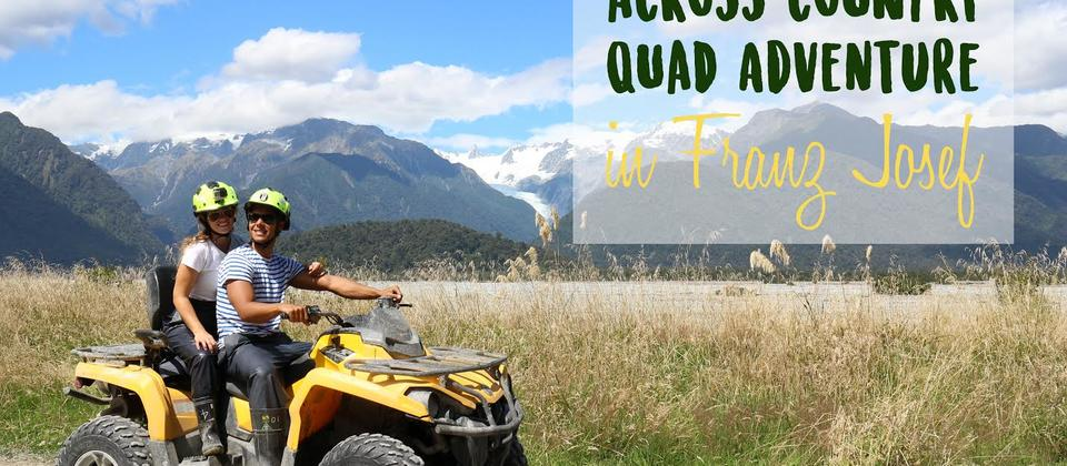 Quad biking is Glacier Country.