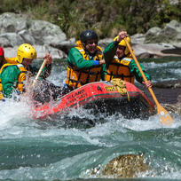 Rafting the Upper Grey River near Reefton
