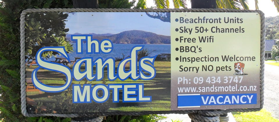 Welcome to the Sands Motel