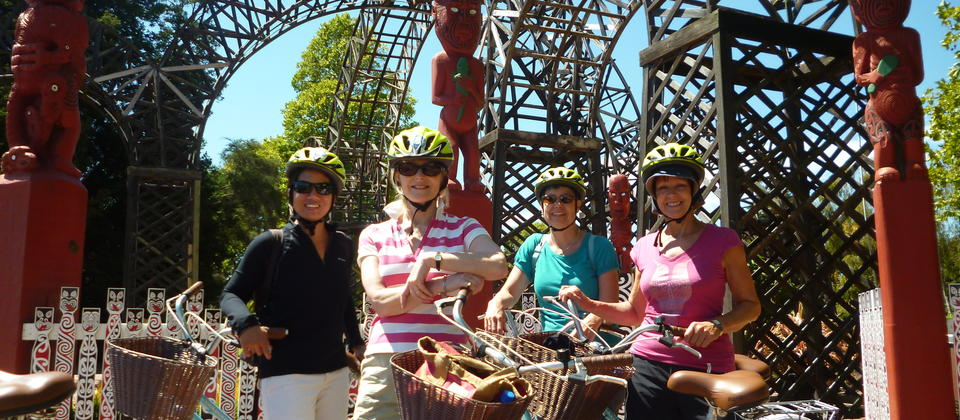 A wonderful day exploring Rotoua on a Happy Ewe Cycle Tour