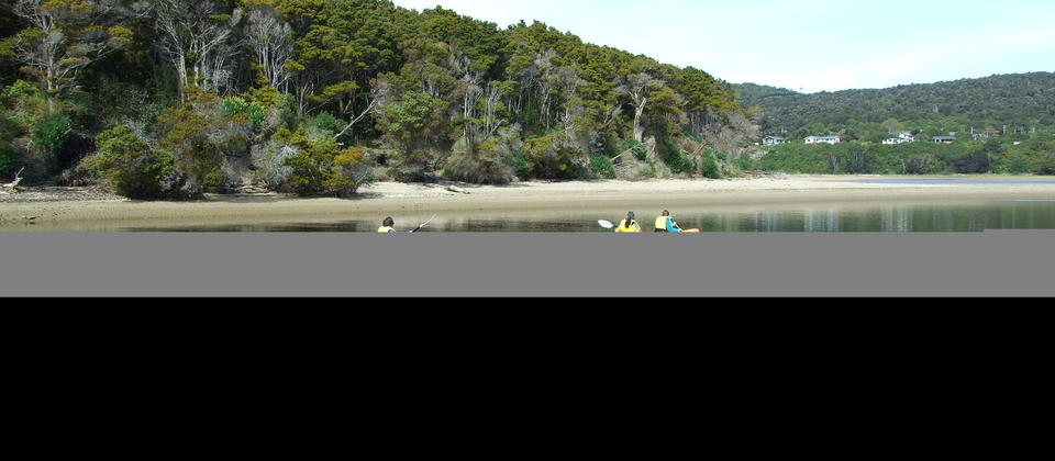 Kayak hire at Papatowai The Catlins NZ