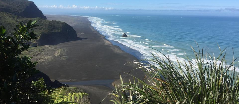 Wonderful volcanic beaches