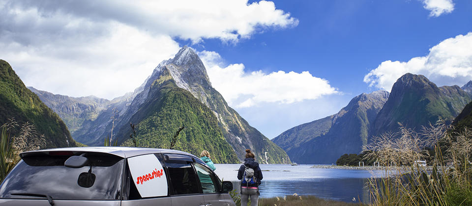 Visit Milford Sound in your Spaceship