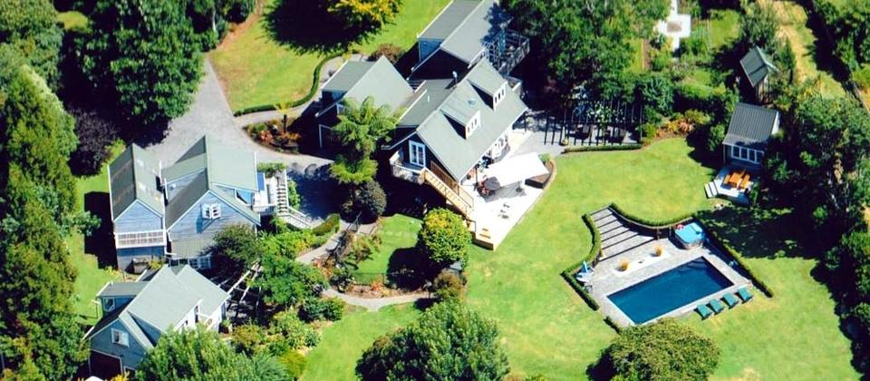 Brenton Lodge aerial view