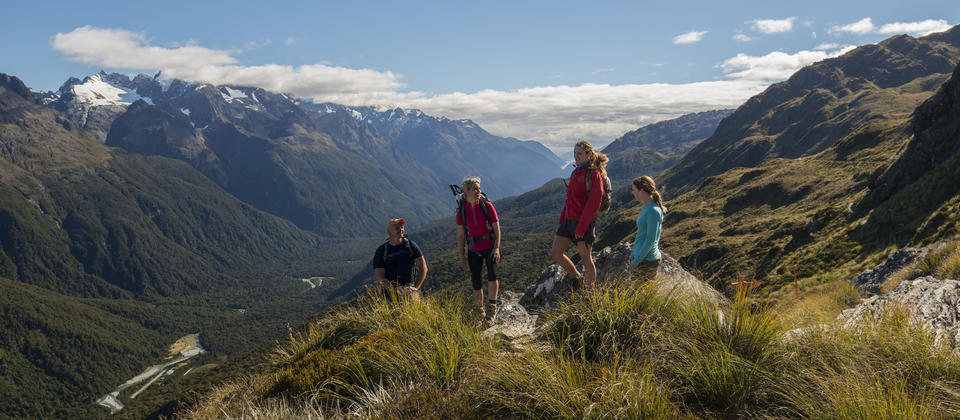 Ultimate Hikes - Routeburn Track Guided Walk