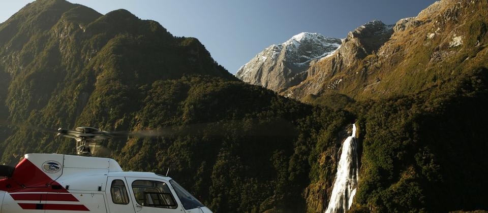 Milford Sound is a must-do, and with scenery like this of the Bowen Falls it is totally understandable.