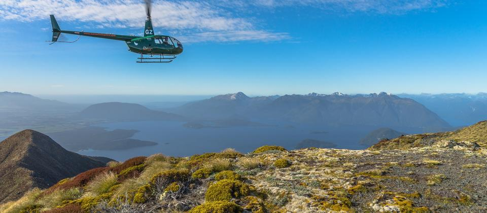 Helicopter scenic flight - Fiordland.