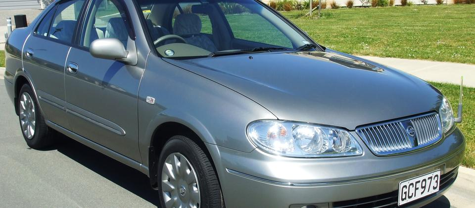 2.0L Auto Nissan Bluebird - for those needing a little more Power than the 1.5L auto sedans