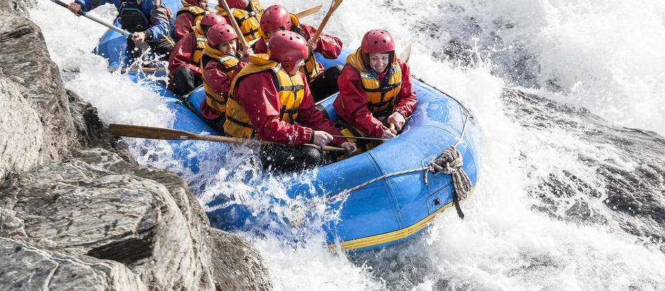 Queenstown is home to some of the best whitewater rafting in New Zealand!