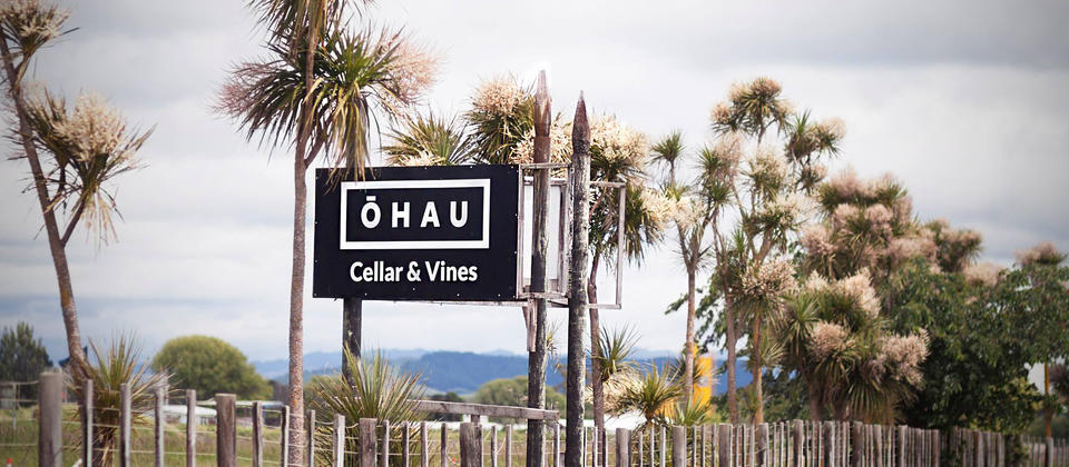 The Ohau Wines sign, State Highway 1