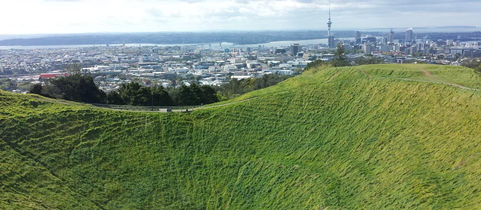 Auckland's Mt Eden Summit