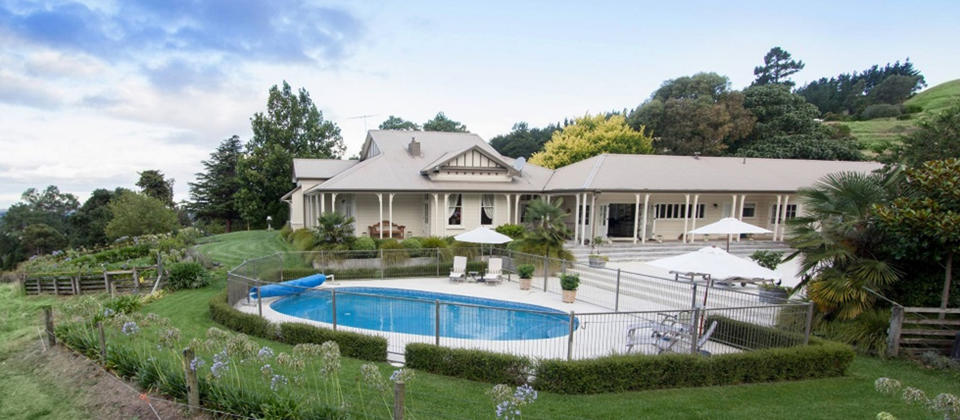 The Manse-Luxury 5-star accommodation in Hawkes Bay