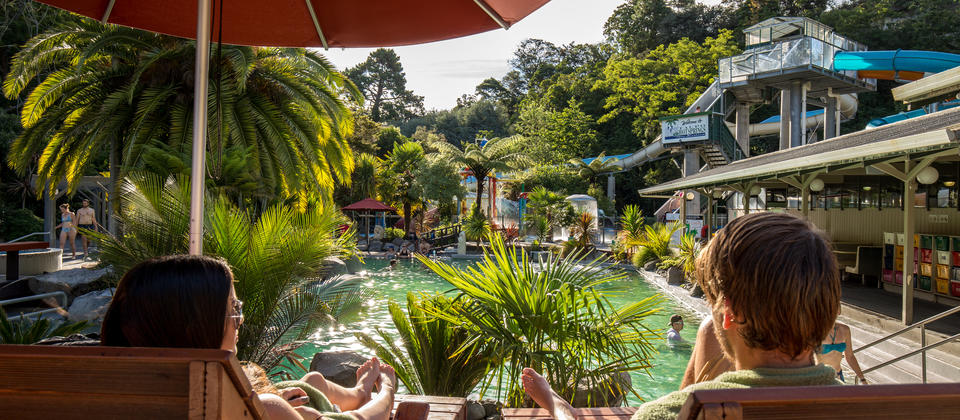 Relax at Taupo Hot Springs