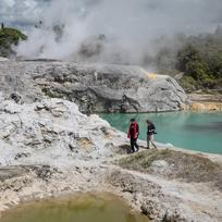 Te Puia guide Kirimatao West shares the history of the center for Māori culture and geothermal wonders.