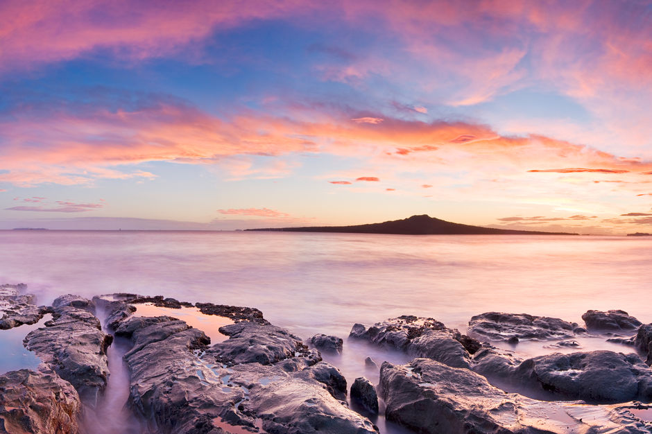 Walk to the summit of Rangitoto Island
