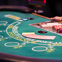 Enjoy the glamour of a night at the casino and the thrill of taking a gamble.