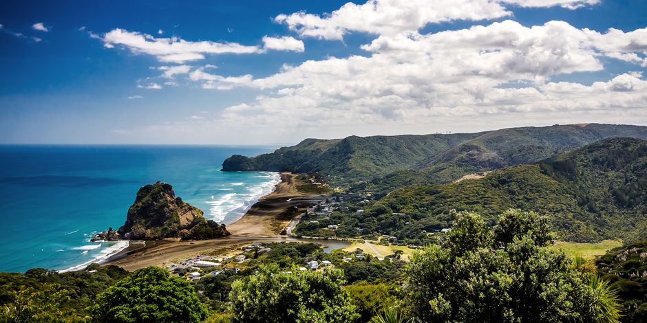 Explore one of the many West Coast beaches. Piha is a stunning spot, with beautiful waterfalls and iconic black sand.