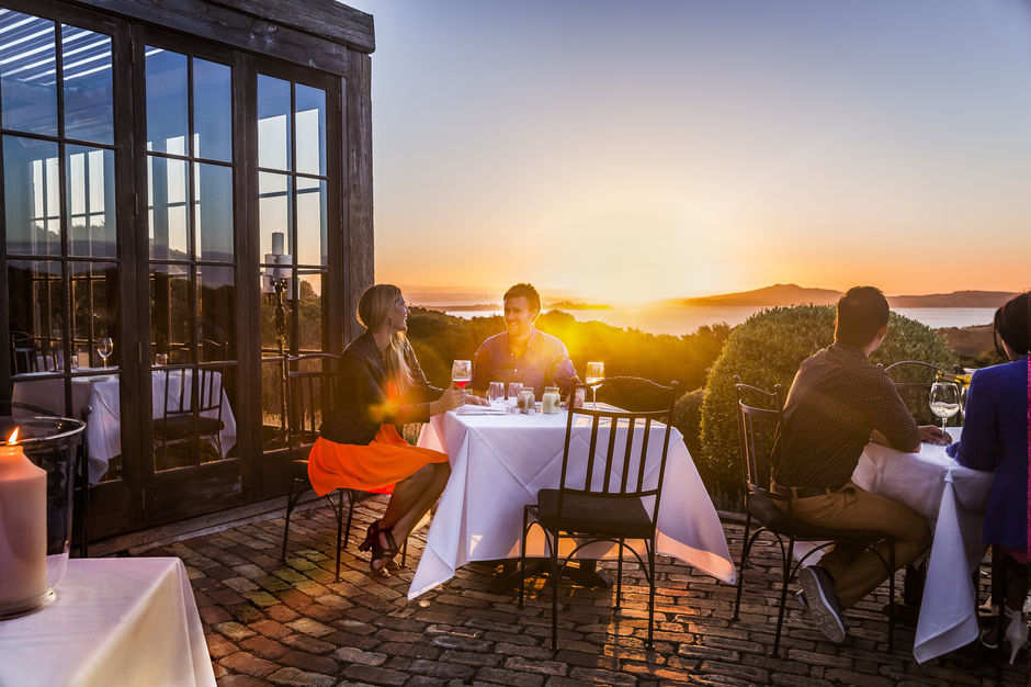 Waiheke Island is dotted with more than 20 vineyards, each with a spectacular outlook.