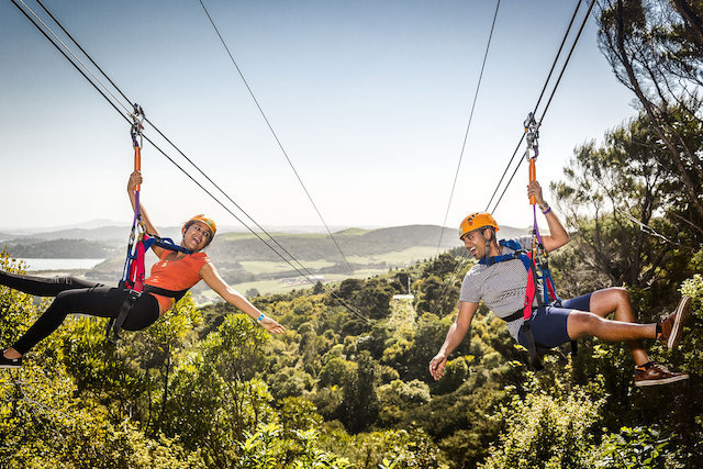 Zip lining in New Zealand | Things to see and do in New Zealand on