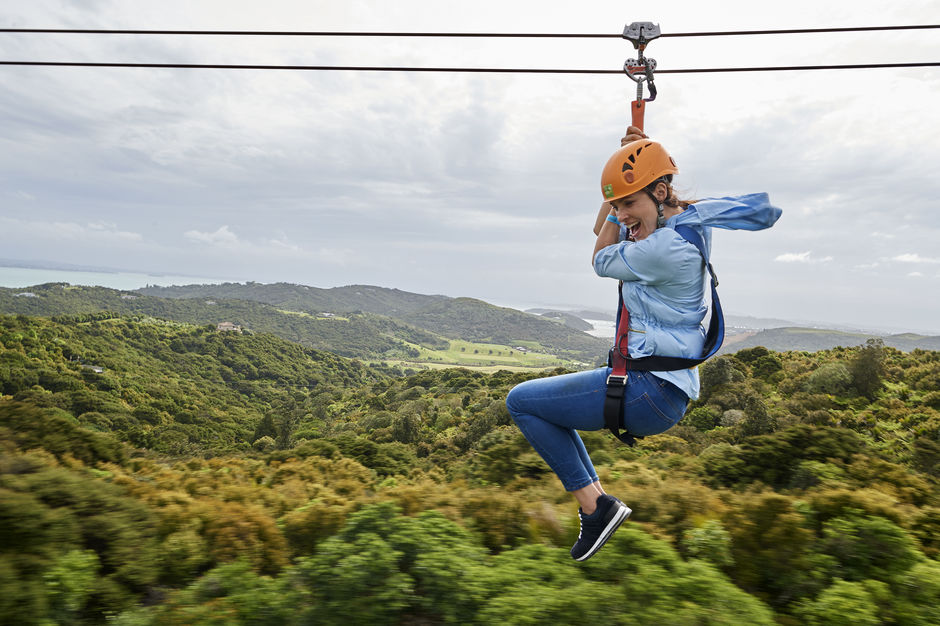 Among the many adventures on the Island of Wine is ziplining, an exhilarating mix of adrenaline, speed and nature.