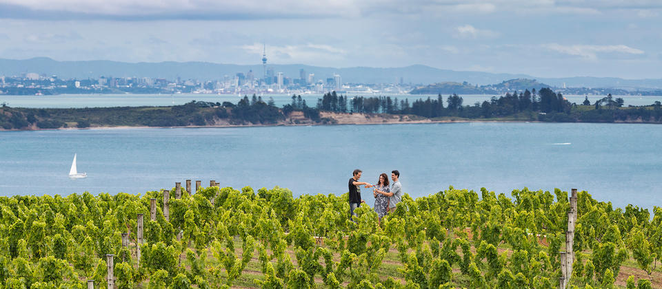Enjoy over 20 unique wineries on a paradise island just 35mins by ferry from Auckland's CBD.