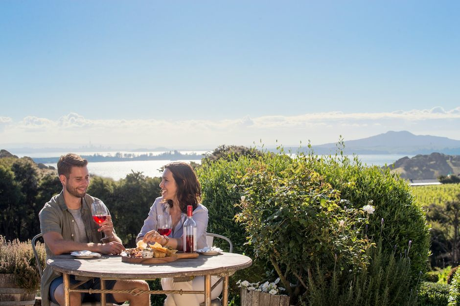 Wine-tasting on Waiheke Island