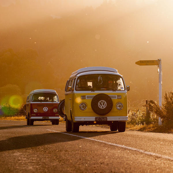 Exploring New Zealand by Kombi