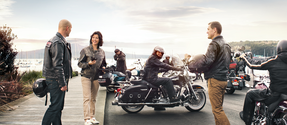 Rent a motorcycle and cruise New Zealand's famously scenic roads.