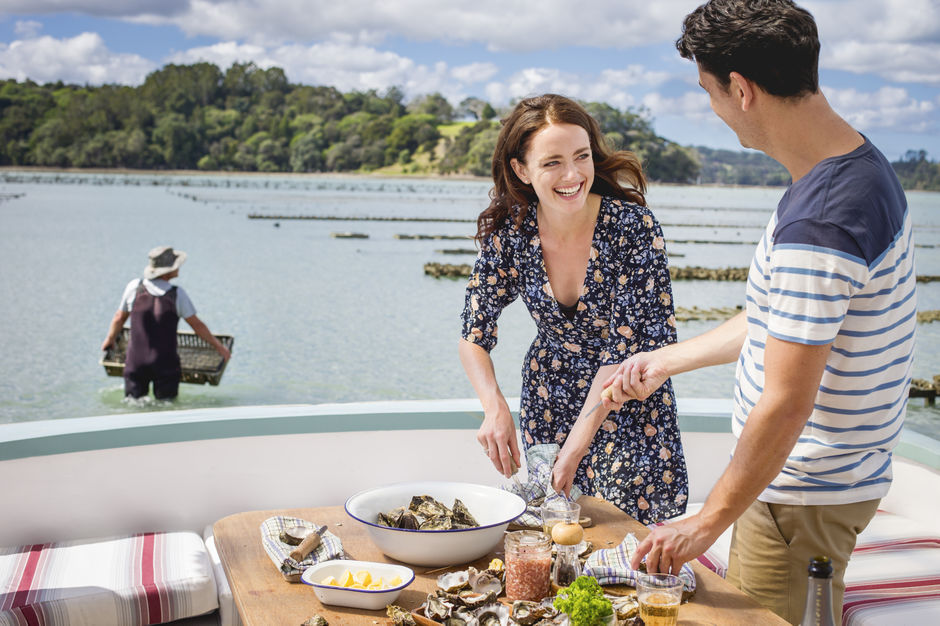 A true farm-to-plate experience, head out to Matakana (an hour north of Auckland central) to  enjoy a taste of fresh oysters.