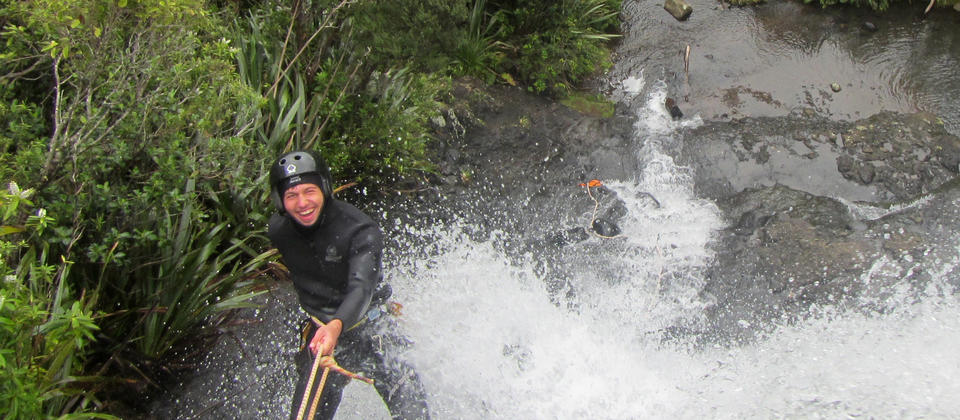 Canyoning in Auckland