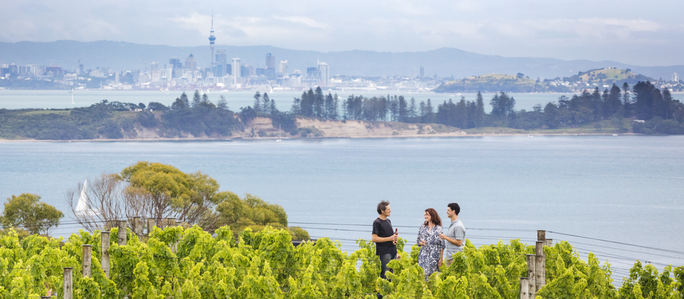 Enjoy over 20 unique wineries on a paradise island just 35 minutes by ferry from Auckland's CBD.