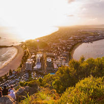Sunrise on Mt Maunganui
