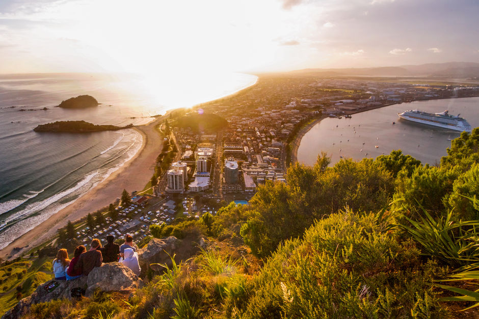A pre-dawn hike to the top of Mount Maunganui might be just the way to start 2017 off with a bang.