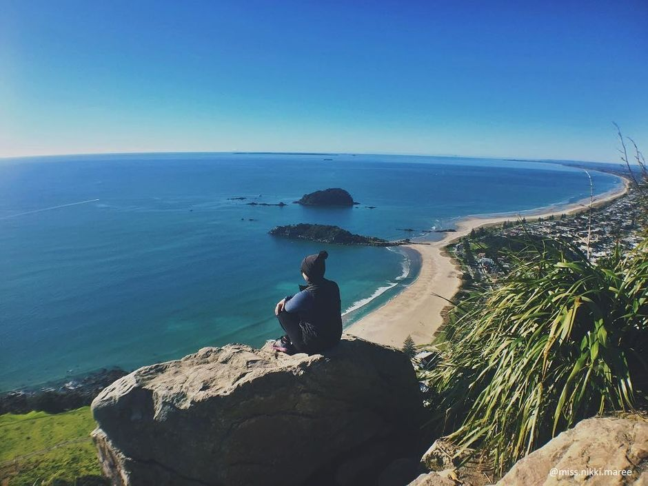 Few things compare the view form the top of Mt. Maunganui.