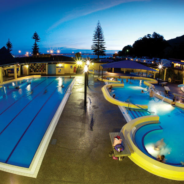 Hot Pools, Mount Maunganui