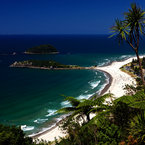 View of Mount Maunganui