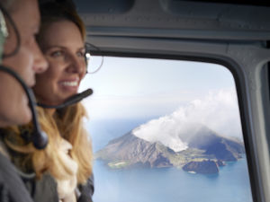 Heli to White Island