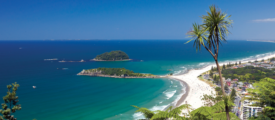 Hike to the summit of Mount Maunganui and be rewarded with vast coastal views of the Bay of Plenty.