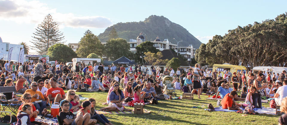 Enjoy a summer's night to remember at the delicious Gourmet Night Markets in Mount Maunganui.