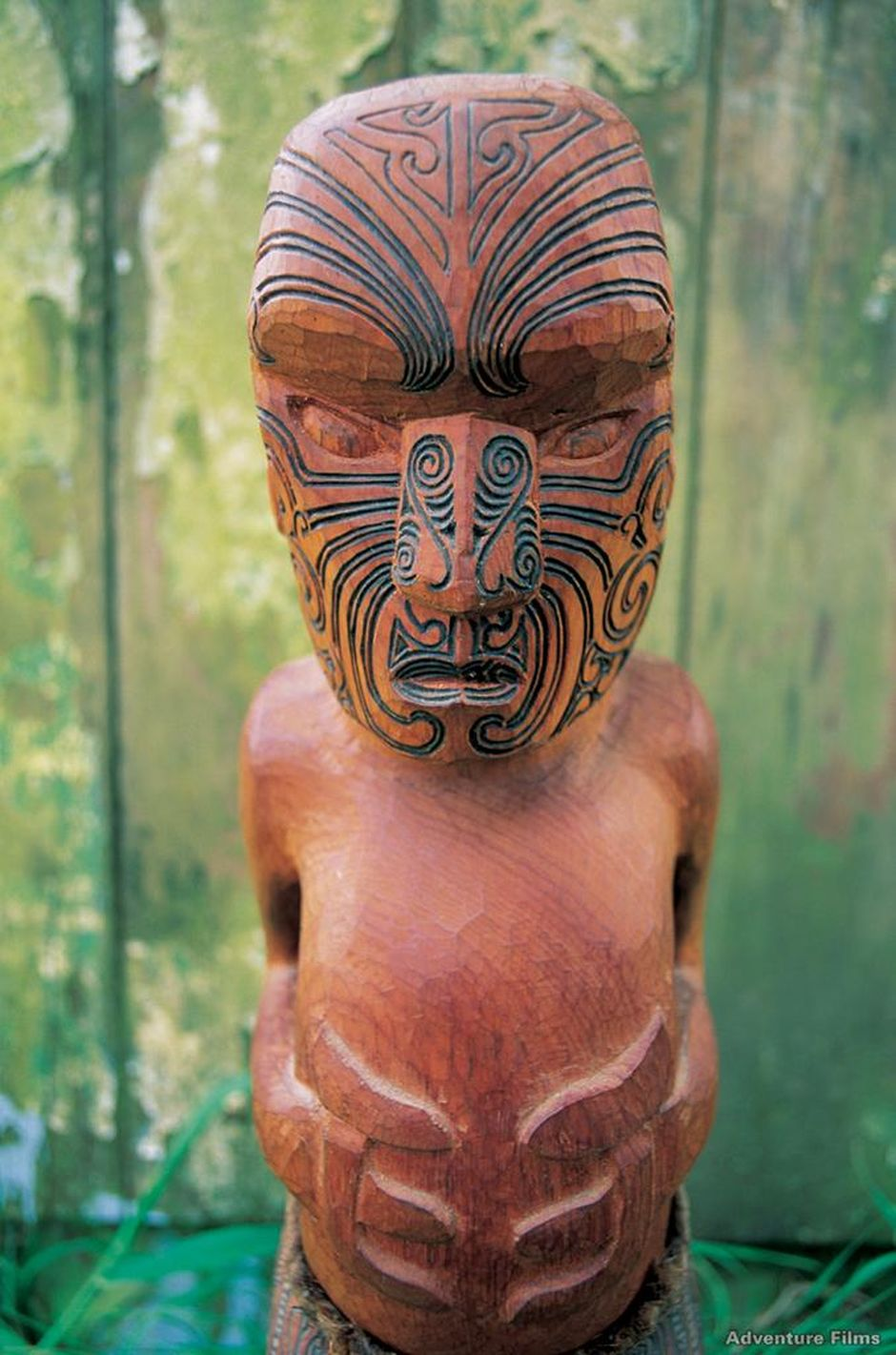 Maori carvings are intricate and fascinating.