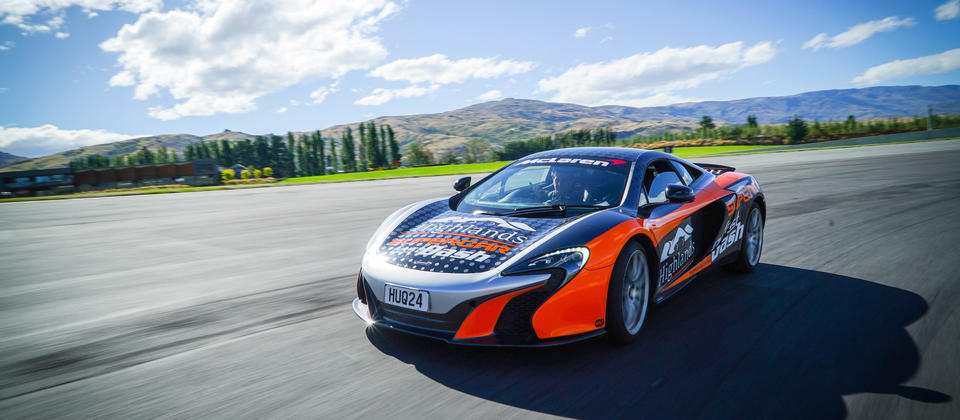 Sit alongside a professional race driver on a 'Supercar Fast Dash' in a McLaren 650's.