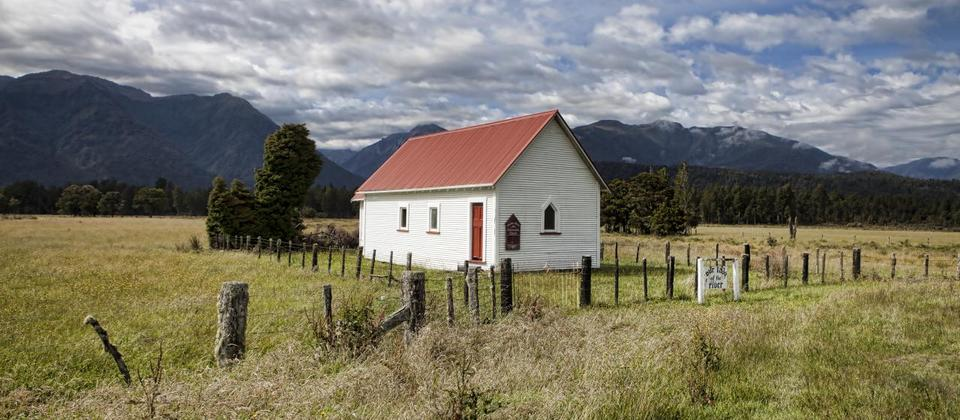 Ashburton is a large rural community surrounded by fertile farmland