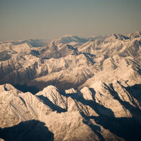 The majestic Southern Alps.